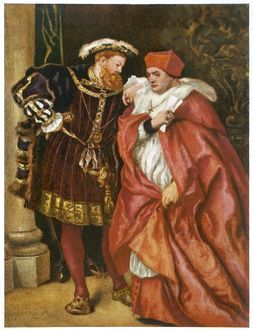 WOLSEY WITH HENRY VIII