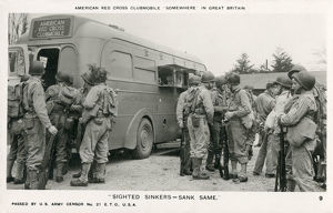 new items grenville collins collection/ww2 american red cross clubmobile uk