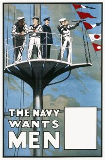 WWI NAVY RECRUITMENT