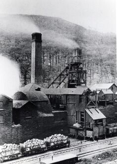 Aberdare Colliery, Glamorgan, South Wales