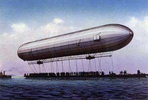 ZEPPELIN FIRST FLIGHT